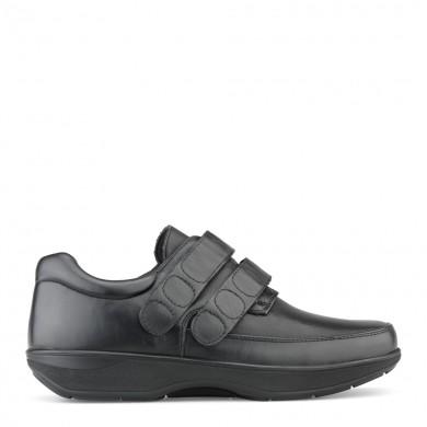 New Feet Herresko Velcrolukning 81-47-210