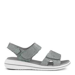 Green Comfort Leaf Sandal 422004Q48