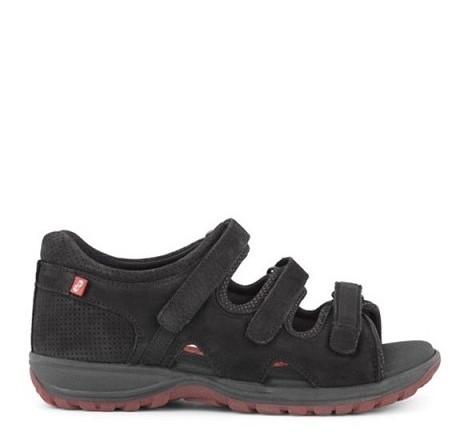 Green Comfort Sandal 16128-O-BLA