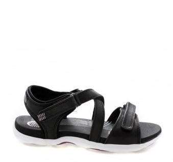 Green Comfort Sandal 17123-P-BLA