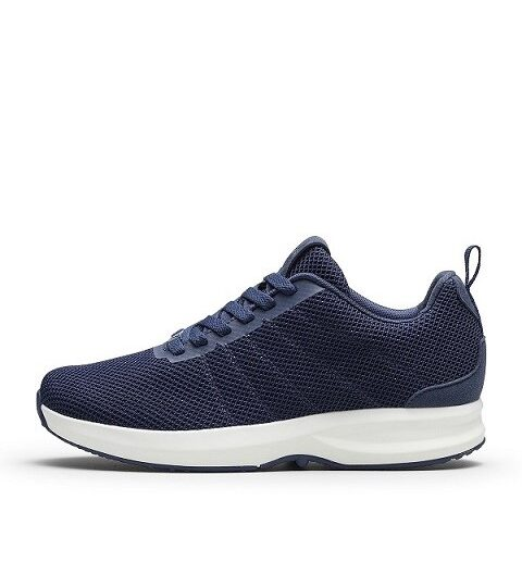 GaitLine Track Knit Navy/Hvid Sneakers
