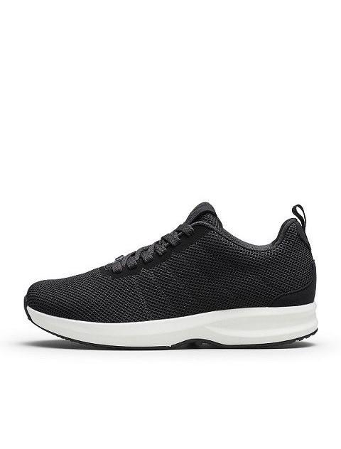 Gaitline track knit black white