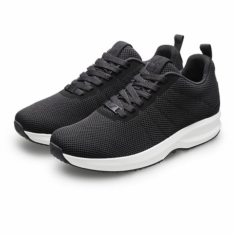 Gaitline Track Knit Black White